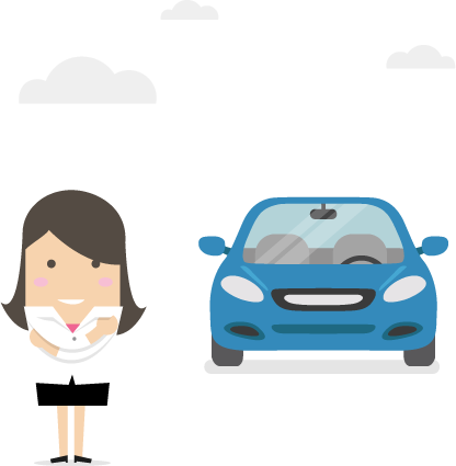 woman_car_clouds